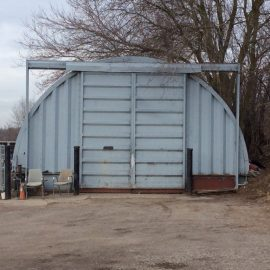 Quonset-Hut Repair Shop @ 74 Suburban Avenue, Guelph, Ontario